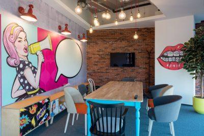fun office space design