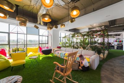 flexible office space design